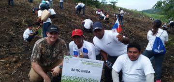 Participación en la jornada de Reforestación Alianza por el Millón